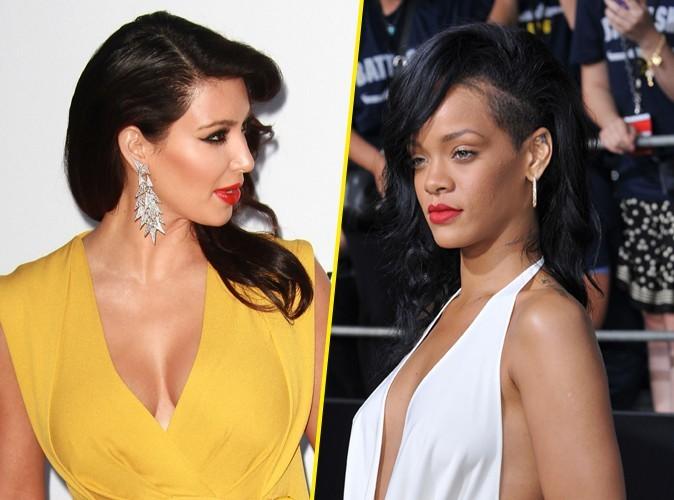 Kim Kardashian : elle fait tout pour éloigner Rihanna de Kanye West !