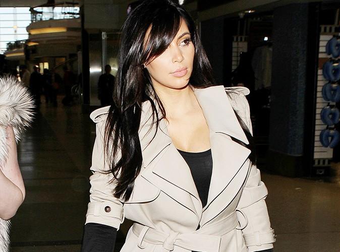 Kim Kardashian : elle se les gèle à Paris !