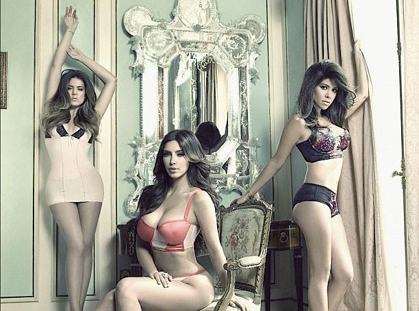 Kim Kardashian : encore un peu de promo en lingerie sexy !