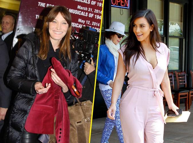 Kim Kardashian et Carla Bruni : nouvelles Best Friends ?