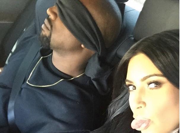 Kim Kardashian et Kanye West : pendant qu'elle pense au futur, lui s'endort au présent !
