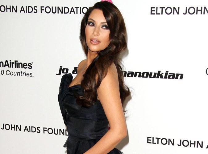 """Kim Kardashian : """"J'ai mis trois heures à me préparer pour les Oscars"""""""