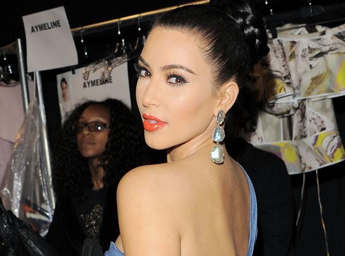 """Kim Kardashian : """"Je n'ai pas eu de nausées matinales !"""""""