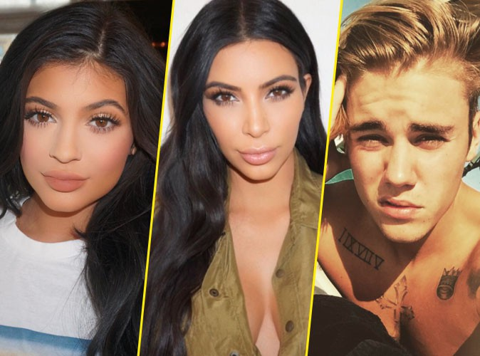 Kim Kardashian menacée par Kylie Jenner et Justin Bieber !