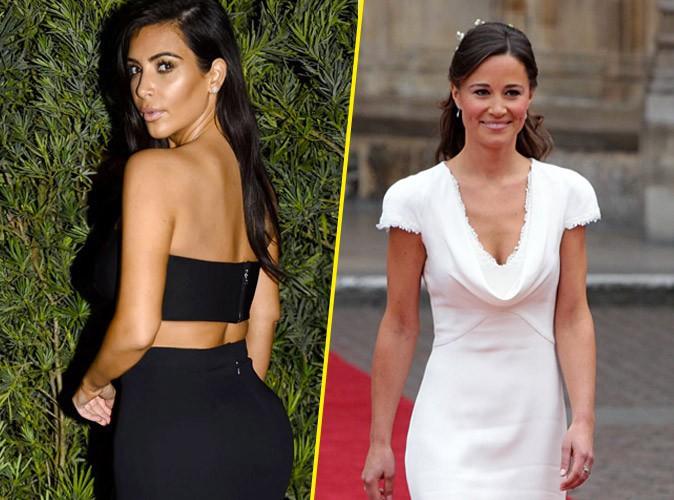 Kim Kardashian : Pippa Middleton tacle ses fesses ? Elle veut les faire r�duire !