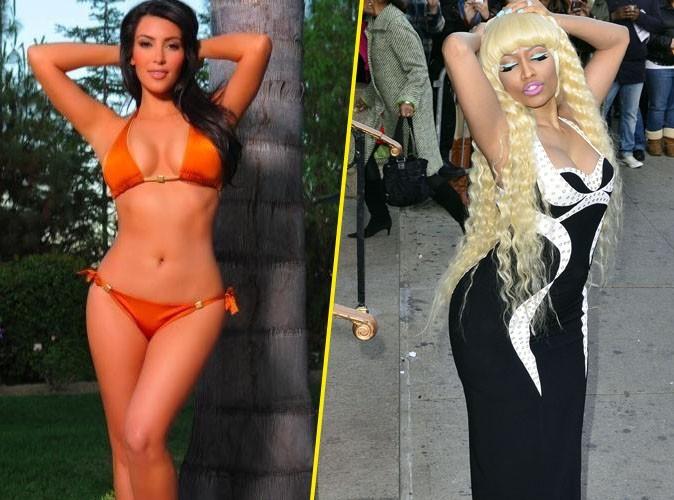 Kim Kardashian : popotin en maillot de bain, elle a de la concurrence avec Nicki Minaj !