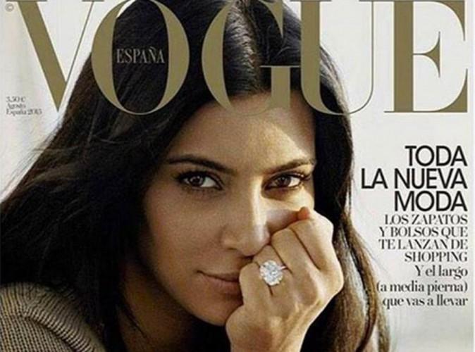 Kim Kardashian prend sa revanche avec une deuxi�me Une de Vogue !