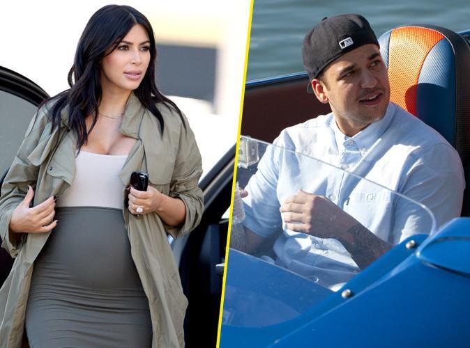Kim Kardashian : réconciliée avec Rob, ils ne se quittent plus !
