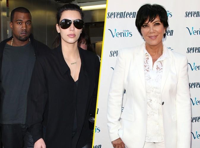 """Kim Kardashian : sa maman déteste que Kanye la traite de """"bitch"""" !"""