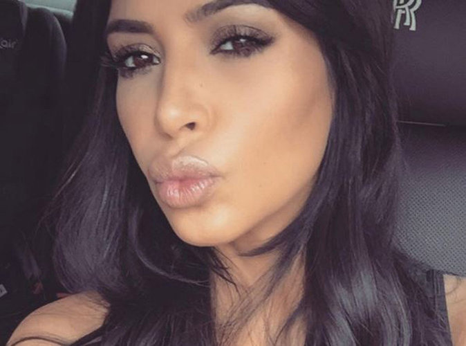 """Kim Kardashian : trop fière de ses """"jumeaux"""" North et Kanye !"""