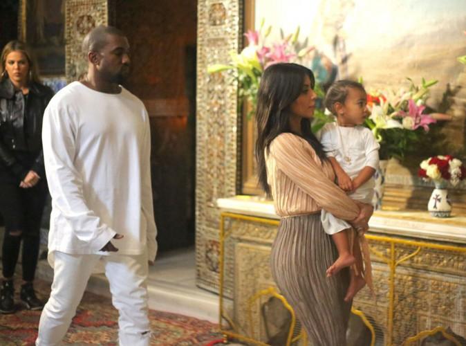 Kim Kardashian : un baptême dans la plus pure tradition pour sa petite North !