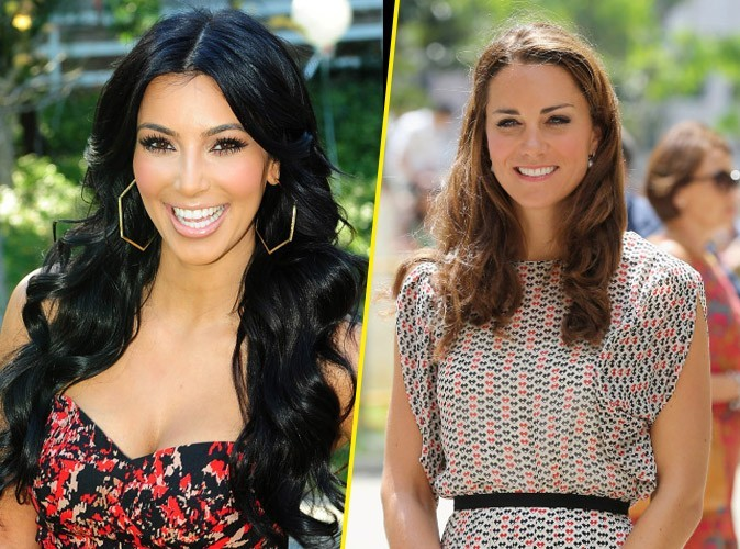Kim Kardashian vs Kate Middleton : qui va faire le plus de buzz avec sa grossesse en 2013 ?