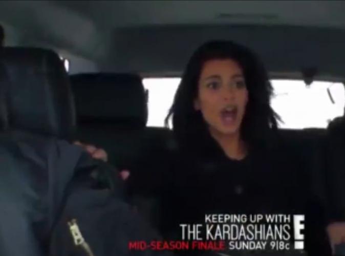 Kim, Khloe Kardashian et Kylie Jenner : la vidéo choc de leur accident de voiture !