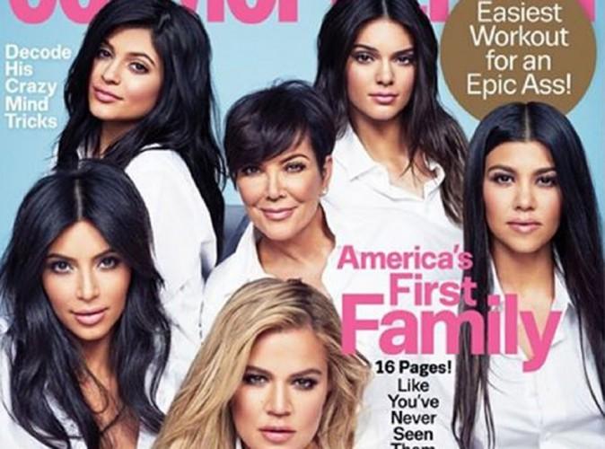 Kim, Khloé, Kourtney, Kylie, Kendall et Kris s'offrent Cosmo pour leur première Une ensemble en 4 ans !