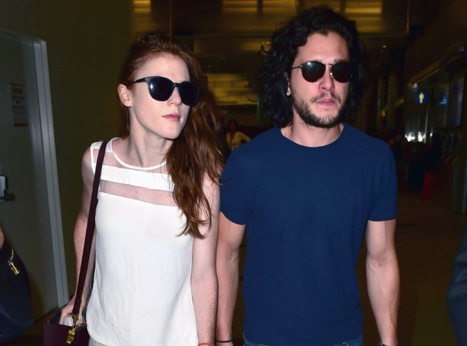 "Kit Harington et Rose Leslie : les héros de ""Games of Throne"" à nouveau ensemble !"