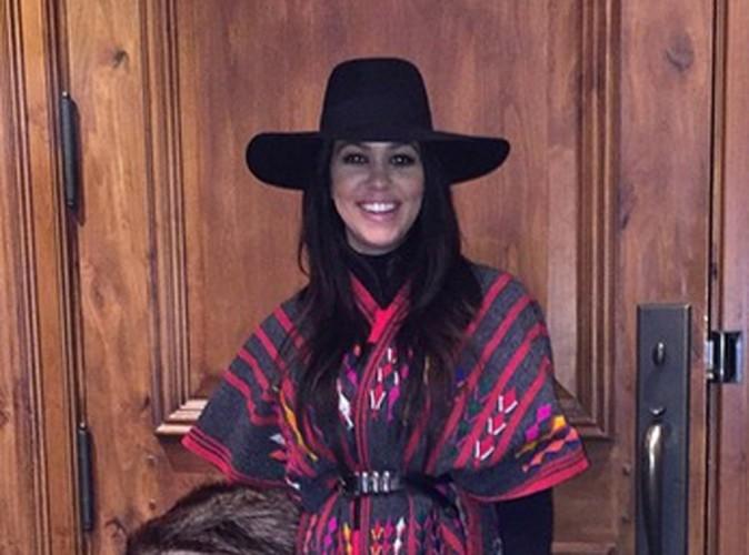 Kourtney Kardashian dévoile ENFIN le visage de son petit dernier, Reign Aston !