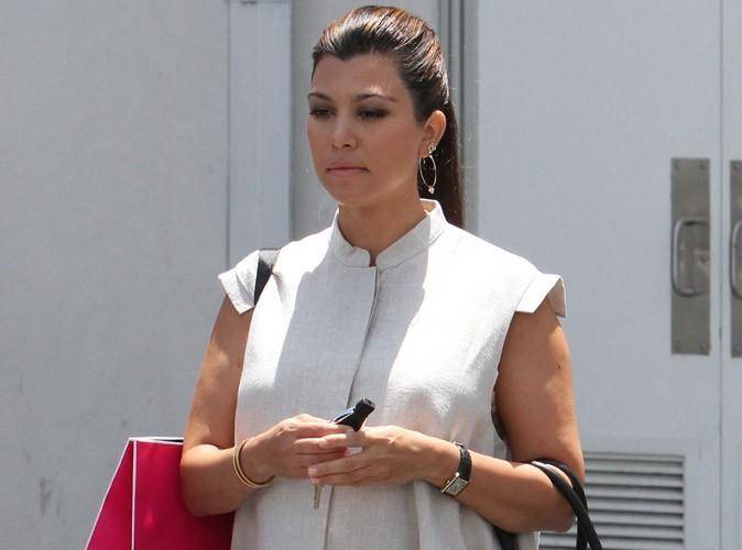 Kourtney Kardashian : fausse alerte, elle n'a toujours pas accouché !