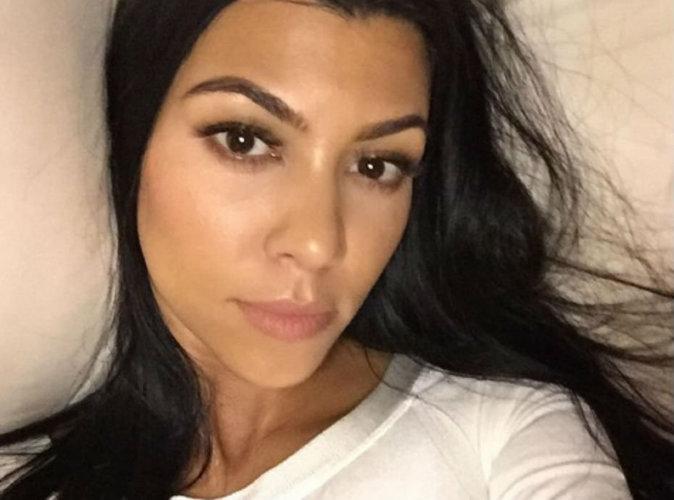 Kourtney Kardashian nue, elle récidive !