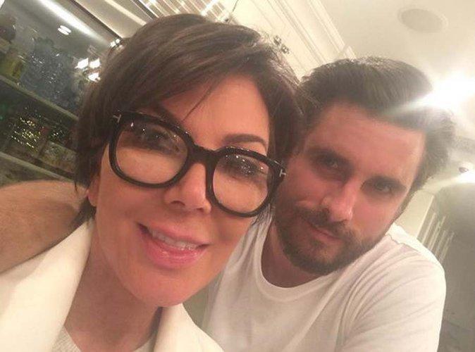Kris Jenner : belle déclaration d'amour, elle pardonne tout à Scott Disick !
