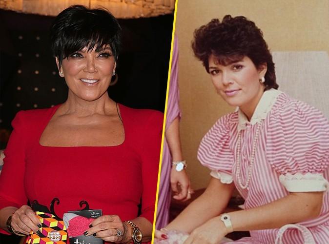 Kris Jenner : en trente ans, elle n'a presque pas changé !