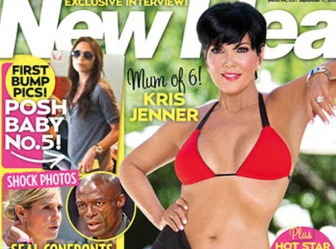 Kris Jenner : fière d'exposer son body en bikini, la maman de Kim Kardashian s'est offert une nouvelle paire de seins !