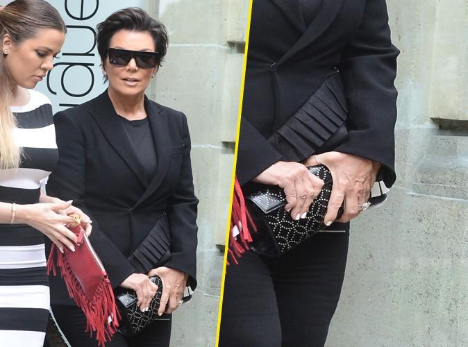 Kris Jenner : la momager dégaine son alliance à Paris !