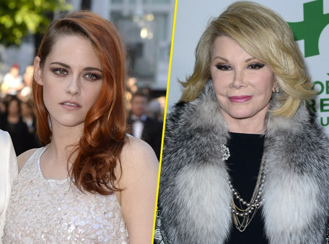 Kristen Stewart : son succès ? Elle le doit aux promotions canapé selon Joan Rivers !