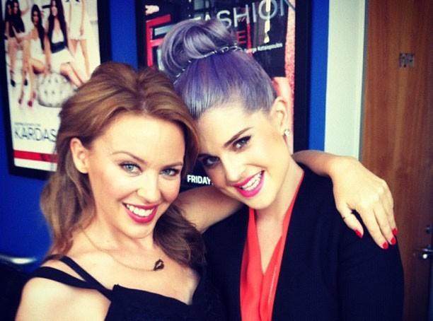 Kylie Minogue : sur le plateau de Fashion Police, elle tacle Madonna devant Kelly Osbourne !