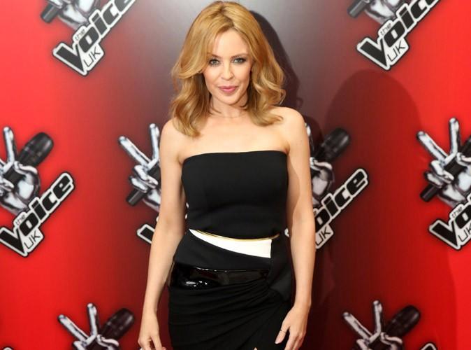 Kylie Minogue : une saison dans The Voice UK et puis s'en va !