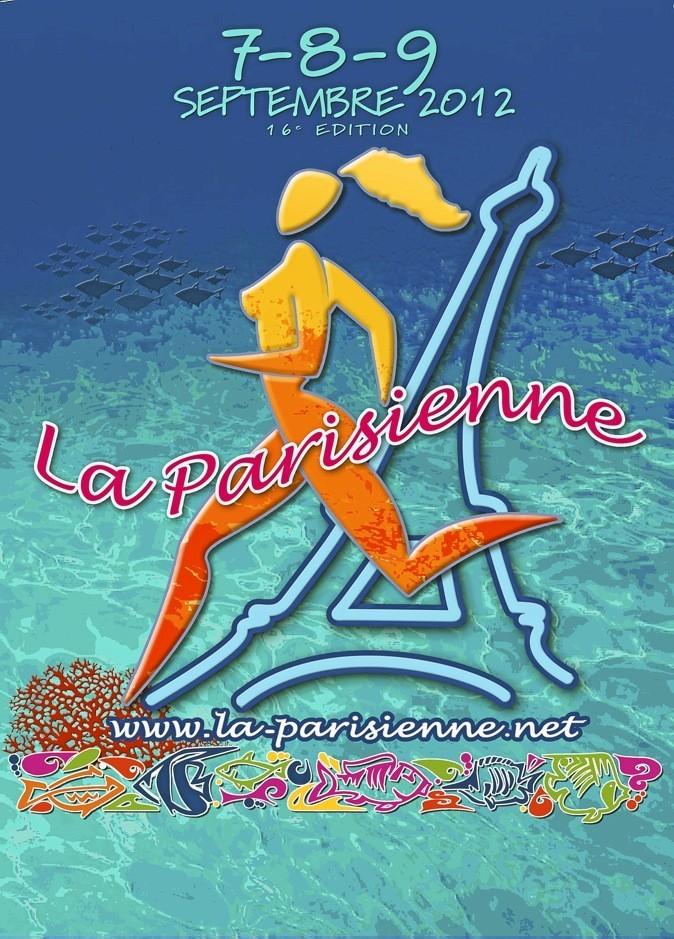 La Parisienne, course 100 % féminine de 6,3 km, part de la tour Eif el