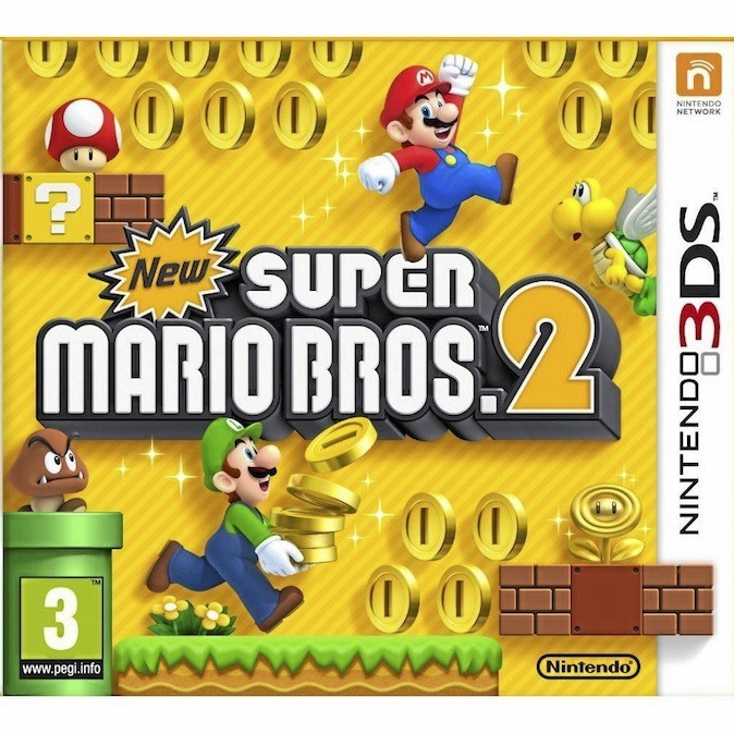 Super Mario Bros 2, Nintendo 3DS. 40 €.