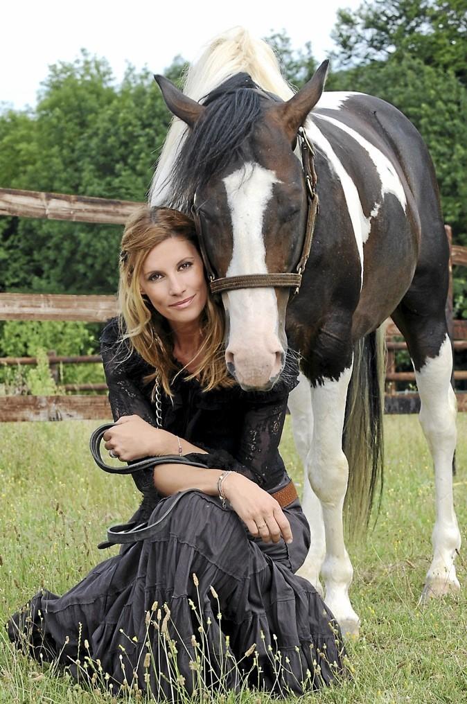 L'ex-Miss France Sophie Thalmann est la marraine d'Equestria, le festival de la création équestre, à Tarbes.