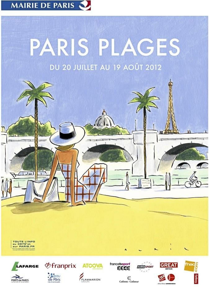 Paris Plages, c'est parti sur 800 m sur les quais de la Seine !