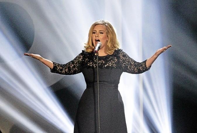 Adele, la superstar des Brit Awards 2012 !