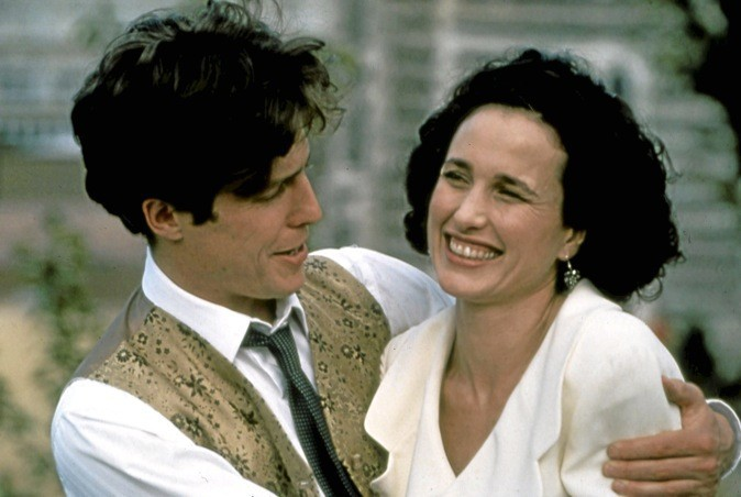 """Le film """"Quatre mariages et un enterrement"""" sur M6 à 20h50"""