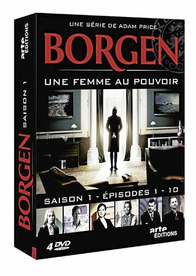 Coffret 4 DVD Borgen, Arte Vidéo. 35€
