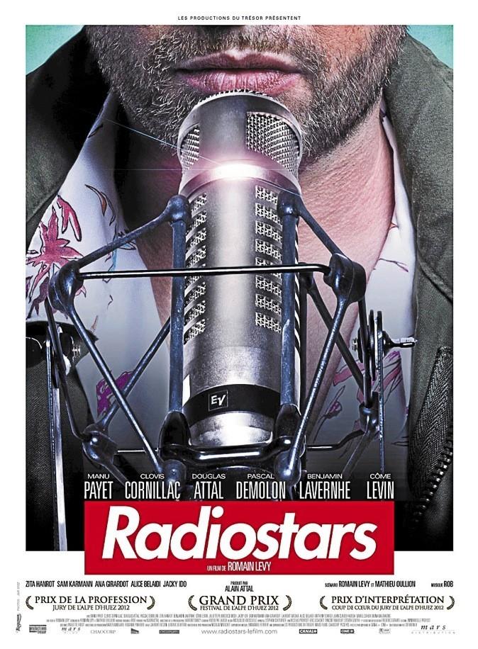 Rendez-vous à l'avant première de Radiostars avec Manu Payet et Clovis Cornillac !