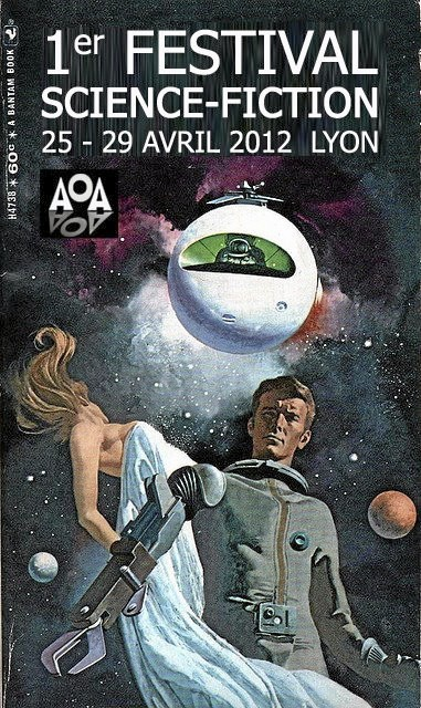L'affiche du Festival de science-fiction de Lyon !