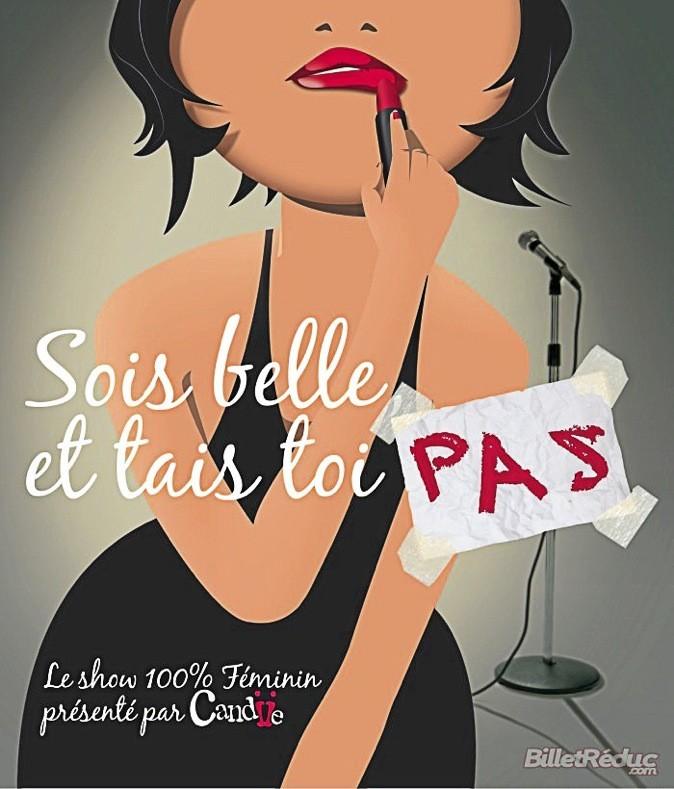 """L'affiche du spectacle """"Sois belle et tais toi pas"""" !"""