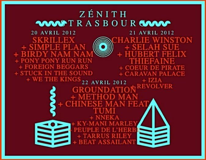 Festival des Artefacts, La Laiterie, Zenith de Strasbourg. DE 13 à 32€