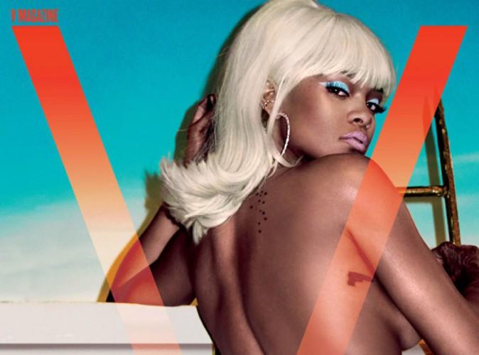 L'été sera hot avec Rihanna, topless et blonde en Une de V Magazine !