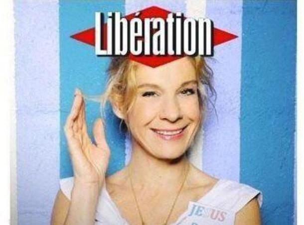 La fausse Une de Libération avec Frigide Barjo a fait le buzz sur Twitter...
