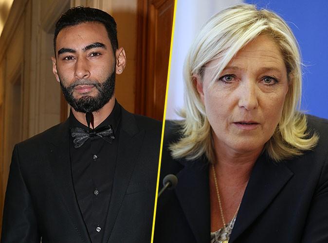 """La Fouine à Marine Le Pen : """"À part le doberman de ton père, personne boufferait ta cha--e"""" !"""