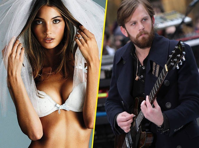 La top sexy Lily Aldridge vient d'épouser le chanteur de Kings of Leon ! Félicitations !
