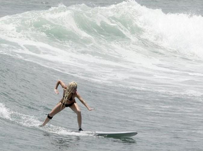 Lady Gaga : elle dompte les vagues mexicaines comme une pro...
