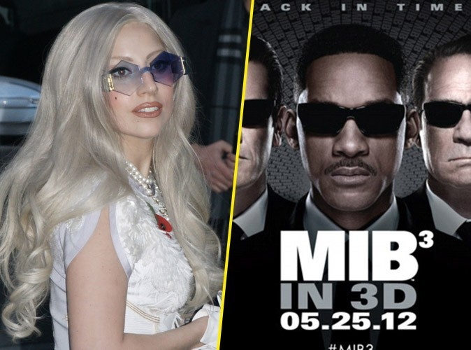 Lady Gaga : elle fait partie du casting de Men In Black 3 !