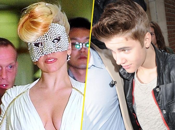 Lady Gaga et Justin Bieber : transformés en extraterrestres dans le nouveau Men in Black !