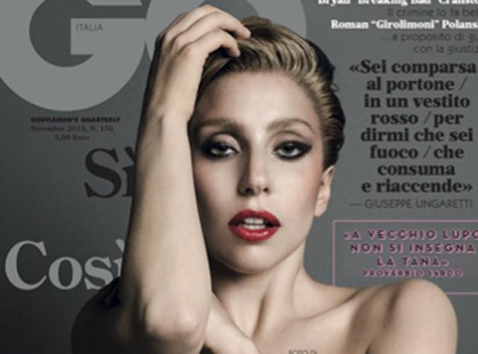 Lady Gaga : nue en Une du GQ italien !