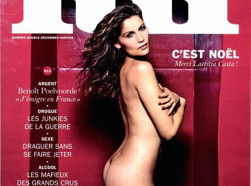 Laetitia Casta : elle pose nue pour Lui !