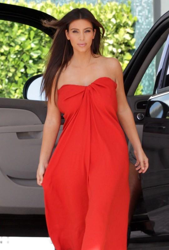 Kim Kardashian au top du glamour !